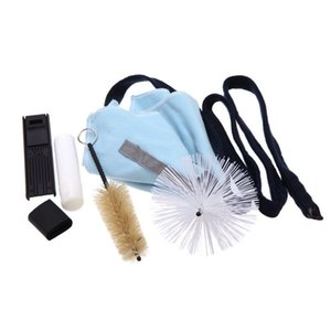Nettoyage à chaud Saxophone Outil KitCleaning Tissu + Cork Grease + Brosse + repose-pouce + anches