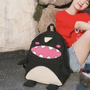Personagem Canvas Moda Adolescentes Capacidade de Cor Backpack Travel Bag Saco Sala para Mulheres Casal Menina Ombro # R20 Alwnx