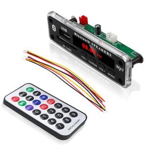 5 V 12 V MP3 WMA decodificador Junta módulo de Audio soporte USB SD AUX FM Audio Radio módulo para accesorios de coche