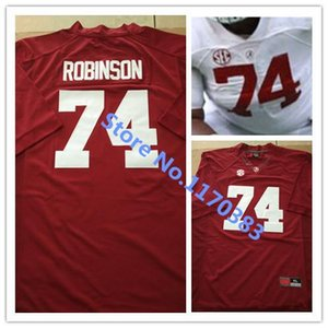 Factory Outlet-вышивка логотипов 2015 American College Football Jersey Alabama Crimson Tide 74 Cam Robinson Jersey Football Jersey free ship