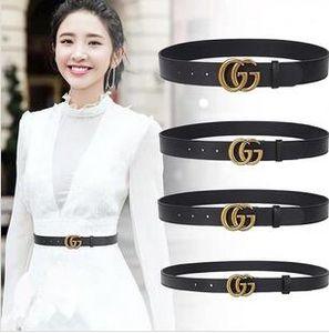 Le dernier produit Nouvelle ceinture Design or ceintures hommes boucle ceintures en cuir véritable pour les hommes conception femmes ceinture hommes avec shippingg libre.