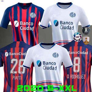 Новый 2020 2021 Сан-Лоренсо де Альмагро футбол Джерси 20 21 Home Away Аргентина Belluschi CAUTERUCCIO BLANCO Трикотажные майки Пьятти