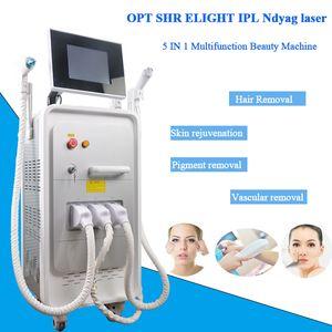 IPL Skin Care Maschine Opt Shr IPL Haarentfernung Hautverjüngung Schönheit Maschine Akne Entfernung Salon Verwenden Spa Equipment