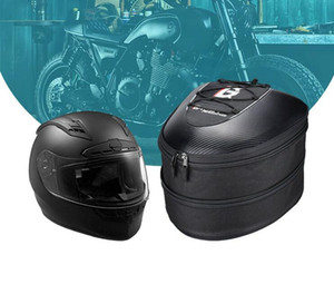 고스트 레이싱 새로운 오프로드 오토바이를 타고 가방 연료 탱크 꼬리 패키지 하드 쉘 헬멧 가방 백 시트 휴대용 가방