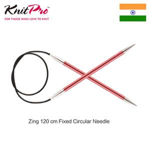 1 piece Knitpro Zing 120 cm Fixed Circular Knitting Needle