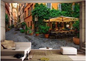 3d wallpaper custom photo Rome city street view in Italy tv background home decor living room 3d wall murals wallpaper for walls 3 d
