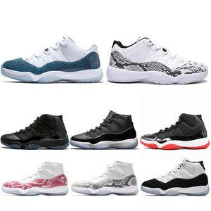 Nouveau 11 Marine Concord 11s Concord 45 Chaussures de basket-ball Bred Space Jam Casquette et robe Hommes formateur Baskets de sport Vente en ligne