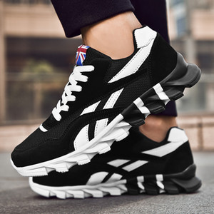Casual Shoes Men Breathable Sneaker Fashion Blades chaussure homme Outdoor comfortable Sport tenis masculino large size 45 46