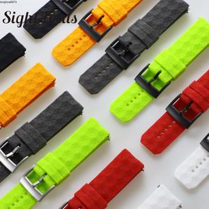 Прицел фокусировки 24 мм силиконовой резины ремешок для Suunto 9 / Баро часы ремешок ремешок для часов часы Suunto 7 Спартанец смотреть Band хода ремешок