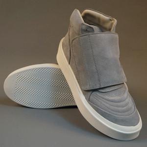 Мужские Justin Bieber обувь High Top Zapatos Hombre Повседневный страх Божий тапок 10 # 15 / 20d50