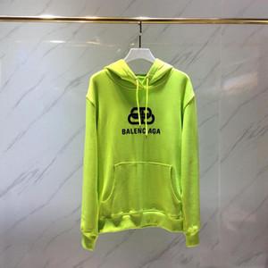 Nouveau ES19 Hommes vintage classique impression brodé Sweats à capuche Hip Hop Sweatshirt Casual Male pull avec capuche hiver Jumper