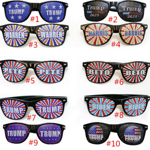 Donald Trump Sunglasses 2020 presidente americano Eleição Óculos Trump Arroz prego Sunglasses Plastic Sports Verão Sun Glasses