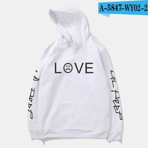 Pkorli Lil Peep Amour Sweat Hommes Femmes Pull Casual Hip Hop Lil Peep Rapper Hoodies Sad garçons face à capuche hoodies d'impression Lettre