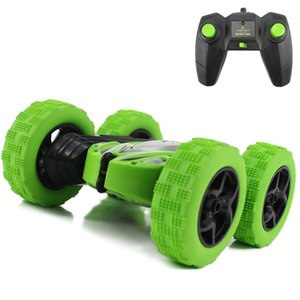 Hugine 2.4G 4CH Stunt Drift Deformation Buggy Rock Crawler Roll Car 360 Degree Flip Kids Robot RC Cars Toys for Gifts Y200414