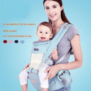Infantil lindo Bebé soporte del asiento delantero Hip honda del portador del abrigo del bebé canguro