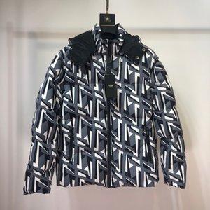 Femmes Hommes Down Veste d'hiver pour hommes Manteau Worm Mode parka coupe-vent Hommes Zipper manteau de veste à manches longues Vestes à capuche B102458K