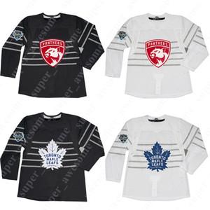2020 Todos estrella Jersey Toronto Maple Leafs 34 Auston Matthews 31 Frederik Andersen 16 Mitchell Marner panteras de Florida Jonathan Huberdeau