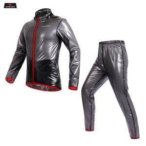 WOSAWE Yarışı Yağmur Coat Motosiklet Rider Yağmurluk Çoklu Fonksiyon ayarlar Motokros Giyim Motosiklet Yağmur ceket takım elbise erkekler ayarlar