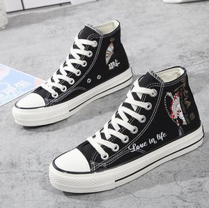 Canvas Shoes American Grown Mexican Roots Casual High Top Lace Ups Sport Sneakers For Men Women