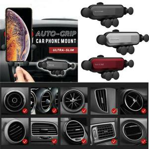 Universal Auto-Grip Support de téléphone portable Support voiture Support Air Vent Gravity 3 Couleurs Option voiture Sortie d'air par gravité Support