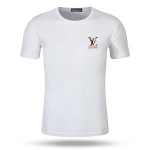 2019 Hommes sport T-shirt de gym vêtements de haute qualité Fitness Hommes Compression à manches courtes Bodybuilding Collants Tops Mâle Séchage rapide