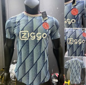2021 Ajax футбольные трикотажные трикотажные версии 2020 TADIC Huntelaar Neres Cruyff Unific Promes Haller Neres Klaassen Футбольная рубашка Мужчины Дети набор