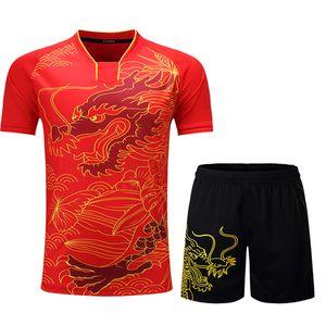 Sport Courir Costume Hommes Femmes Gym Fitness Vêtements rapide Table Tennis sport Badminton sec pingpong exercice trainning Jeux