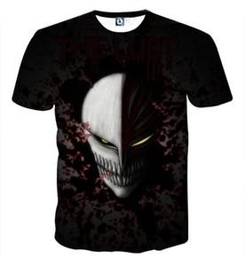 BLEACH Camiseta 3D hombres digitales Camiseta de impresión en 3D para hombre Camiseta ocasional Camisetas para hombre de manga corta Tops tamaño completo S-5XL