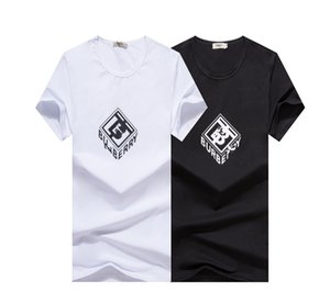 Summer 2020 men's new short-sleeved T-shirt with combed cotton fabric, comfortable and breathable upper body, fashionable and versatile