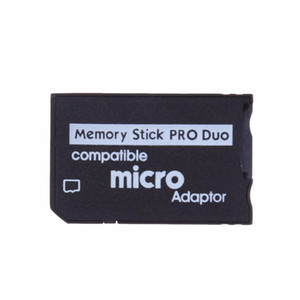 Micro SD to Memory Stick Pro Duo Adapter Compatible MicroSD TF Converter Micro SDHC to MS PRO Duo Memory Stick Reader for Sony PSP 1000 2000
