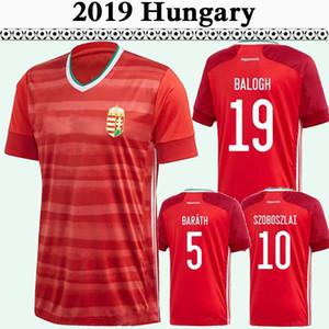 2019 Hongrie Szoboszlai Équipe nationale masculine de football Maillots Coupe d'Europe WILLI ORBAN BALOGH Barath rouge Accueil Football Chemises Uniformes Foci Mezek