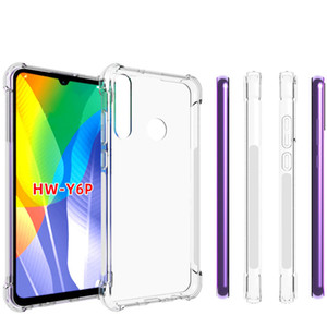 Para Huawei Nova 4e Y6p Y5p antichoque completa suave claro TPU cubierta trasera caso de la venta de productos calientes Y8S