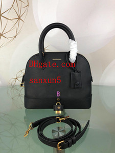 donna crossbody handbags lady Borsa portatile multi-purpose pinzette triangolo vera pelle Totes Hangbag Shell borsa portafoglio Sac à main ba-42