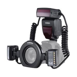 Camera Commercio all'ingrosso Macro Ring Flash YN24EX Fotografia Professionale TTL Speedlite Flash Light per Canon 5D III 5D3 6D 7D 70D Hot Shoe Flash