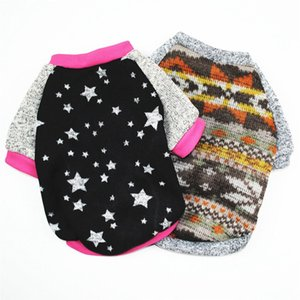 Pet clothes Dog Hoodies Autumn and winter warm sweater For Dogs Coat Jackets Cotton Puppy Pet Overalls For Costume Cat clothes