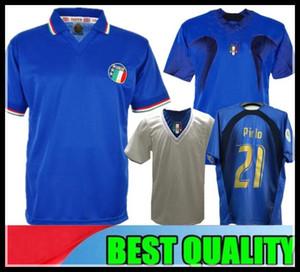 1990 İTALYA Retro Dünya kupası ANA FUTBOL FUTBOL GÖMLEK JERSEY Maldini Ancelotti Baggio Donadoni Schillaci Totti Del Piero 2006 Pirlo Inzaghi