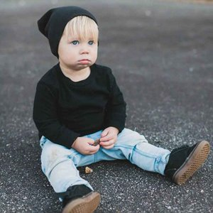 New Fashion Children'S Hood Cap Cotton Soft Street Dance Hip Hop Hat Cap Infant Toddler Child Baby Knitted Hat