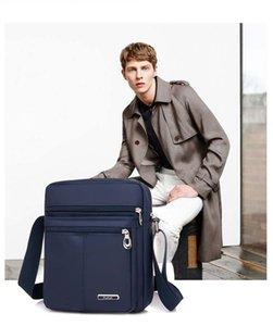 Gli uomini di Oxford Casual Messenger Bag Satchel Fashion Borse Tracolle viaggio Quality Crossbody di affari di borse di alta Tote Y190701