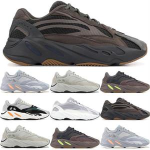 남성 카니 예 웨스트 (Kanye West) 700 V2 정적 3M은 남성의 조깅 남성 스니커즈 여자 몰래 패션 명품 남성 여성 디자이너 샌들 신발 신발을 실행