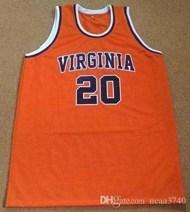 femmes jeunes hommes sur mesure Rare VIRGININA B. STITH # 20 College Basketball Jersey Taille S-4XL ou sur mesure tout nom ou le numéro jersey