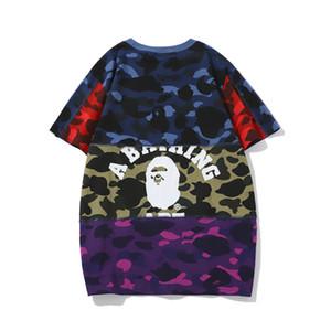 BAP NEW Mens Mulheres Brandt-shirt Designershirts Luxo shirts Rua Hiphop camisetas Verão camisetas mangas curtas com capuz X B20022003T
