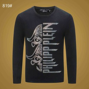 Phillip Plain Fashion Men Sweater Luxury High Quality Designer Brand Top Casual Comfortable Selling Sweater Boutique Tide Brand Slim Top