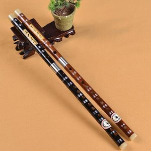 1pc Flûte traversière Bitter Bamboo Chinese Professional Dizi Instrument 2 Sections