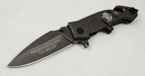 nova chegada EXTREMA RELAÇÃO MF2 X02 ajudar punho de aço rápido aberta faca tático xmas faca presente para recolha Knife Man 1pcs LIVRE shippin