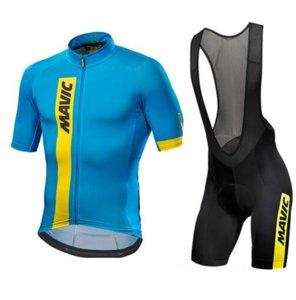 Mav 2020 Radtrikot équipe Sommer Kurzarm Radfahren Set Bike Bekleidung Ropa Ciclismo Radfahren Kleidung Sport Anzug