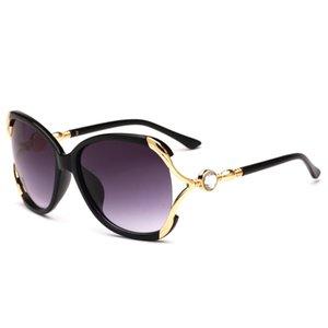 7 colores UV400 gafas de sol de las señoras gafas de sol 2018 nuevas elegantes gafas de sol de metal hueco diamante al por mayor envío gratuito