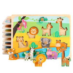 24 стилей 0-6 лет ребенок раннего образования обучающие игрушки деревянные гвозди распознавания формы рукоятка сила деревянная головоломка P151