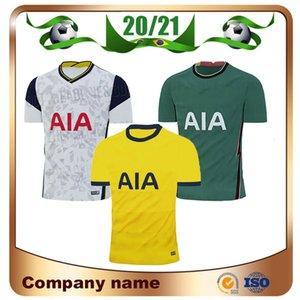 20/21 Spurs Início # 9 BALE # 7 SON Futebol 2020 afastado KANE LLORENTE DELE Futebol camisa LUCAS Fourth longe uniforme de futebol