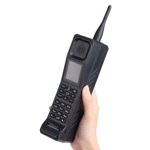 De lujo negro Teléfono de 2,2 pulgadas 4500mAh gran banco energía de la batería del teléfono móvil Dual SIM antorcha FM Radio clásica desbloqueado teléfono celular grande del botón