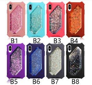 teléfono Quicksand líquido caso del brillo de coque Shining Stars cajas del teléfono iphone 11promax XS máximo de cobertura 6 8 más el teléfono móvil